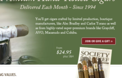 premium cigar of the month club