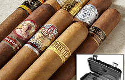 cigars and travel humidor