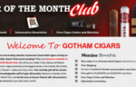 Review – Gotham Cigar of the Month Club