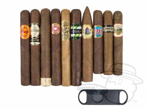 10 cigar sampler
