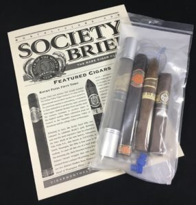 rare cigar club packaging