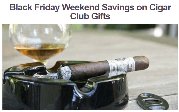black friday cigar discounts